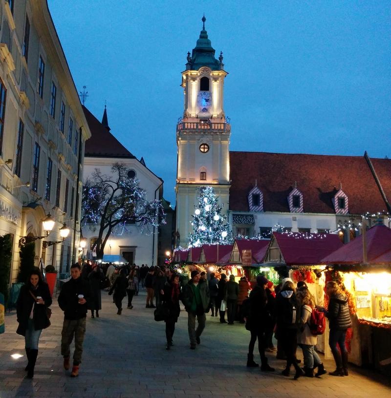 Torget i Bratislava