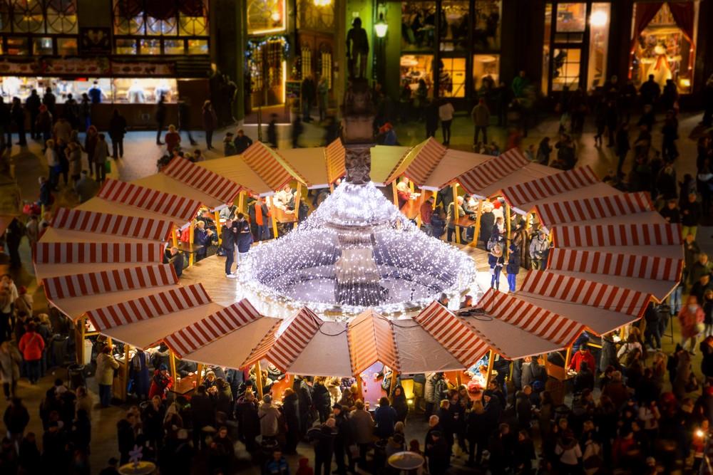 Christmas market Bratislava 2017