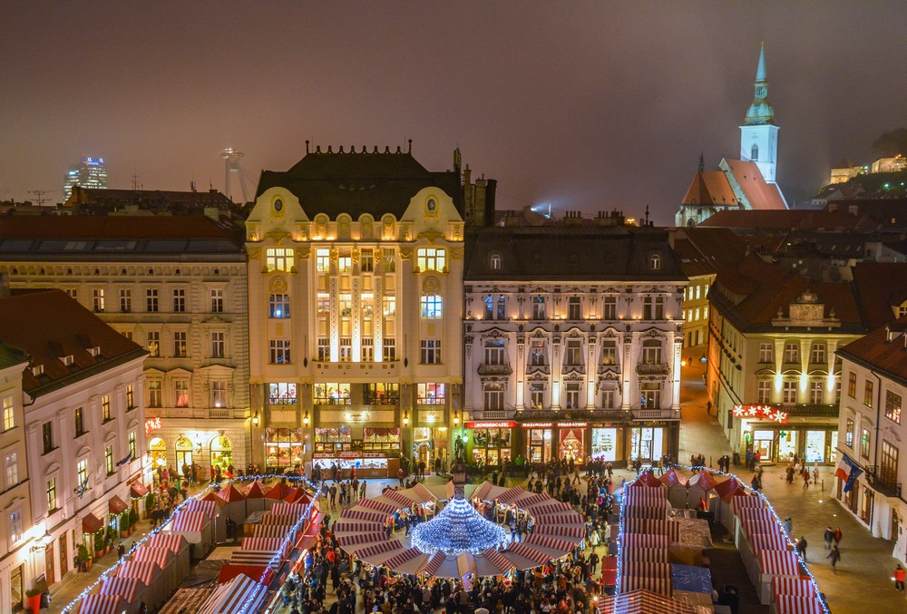 Christmas Bratislava Slovakia.Come To The Christmas Markets In Bratislava In 2018