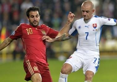 Spain vs Slovakia online